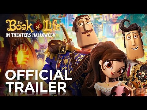 The Book of Life trailers