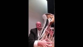 Vurl Bland on the John Packer JP379CC Sterling Tuba
