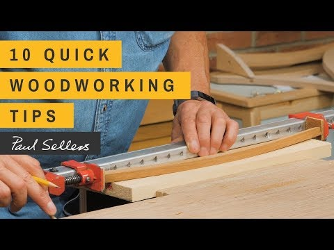 10 Quick Woodworking Tips | Paul Sellers