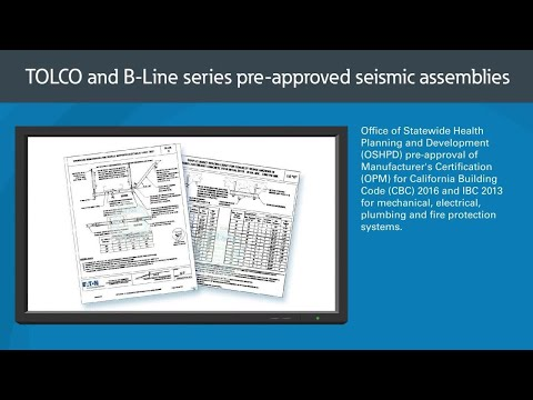 OSHPD OPM Pre-Approved Seismic Bracing Solutions