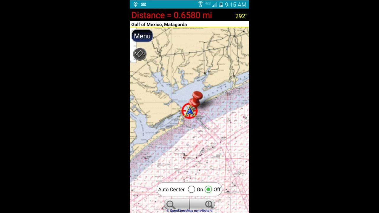 NOAA Nautical Charts - GPS Waypoints Navigator
