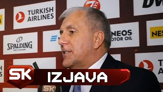 Željko Obradović Pred Fajnal-for Evrolige u Vitoriji 2019   SPORT KLUB Košarka