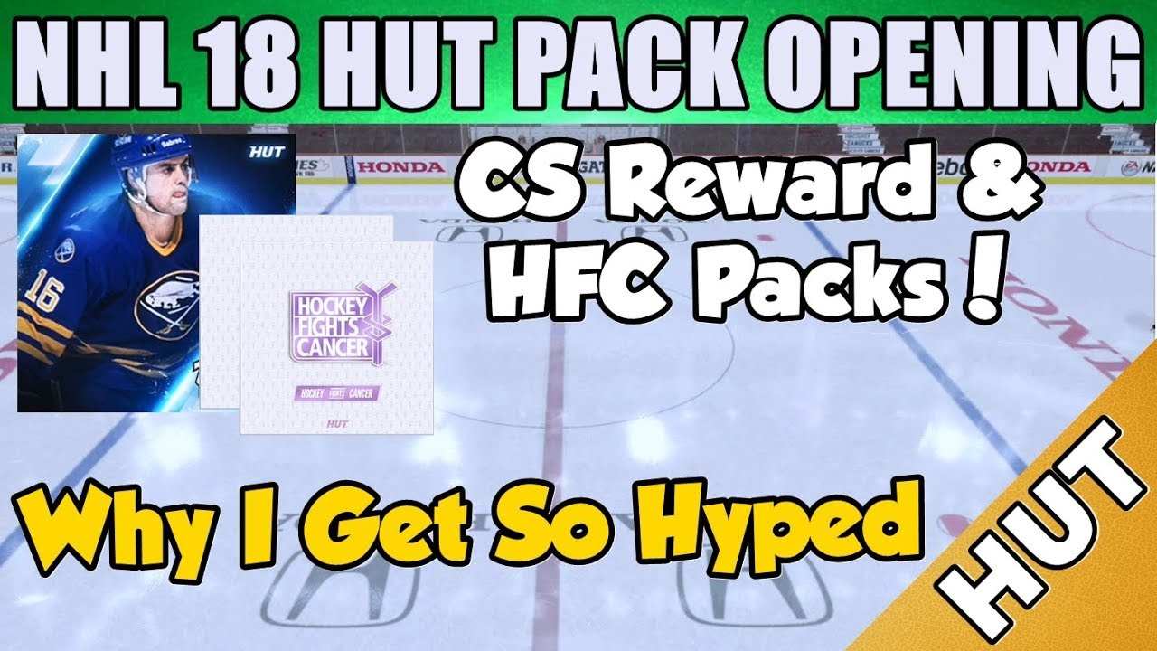 CS Rewards And HFC Pack Opening - NHL 18 HUT - Hockey Ultimate Team ... 1f40aa58b