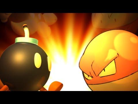 Voltorb vs Bob-Omb - Rap Battle
