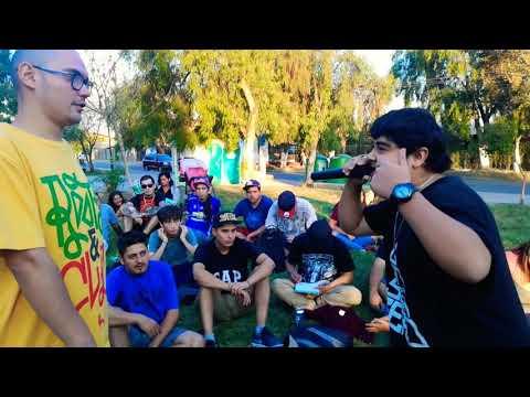 MC Vinx vs Nola héroes de la rima vol Batuco