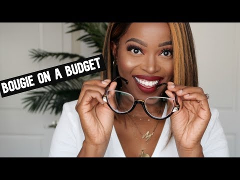 BOUGIE ON A BUDGET TRY ON!!😍 DESIGNER LOOK FOR CHEAP!! Affordable Prescription Glasses Ft. Voogueme