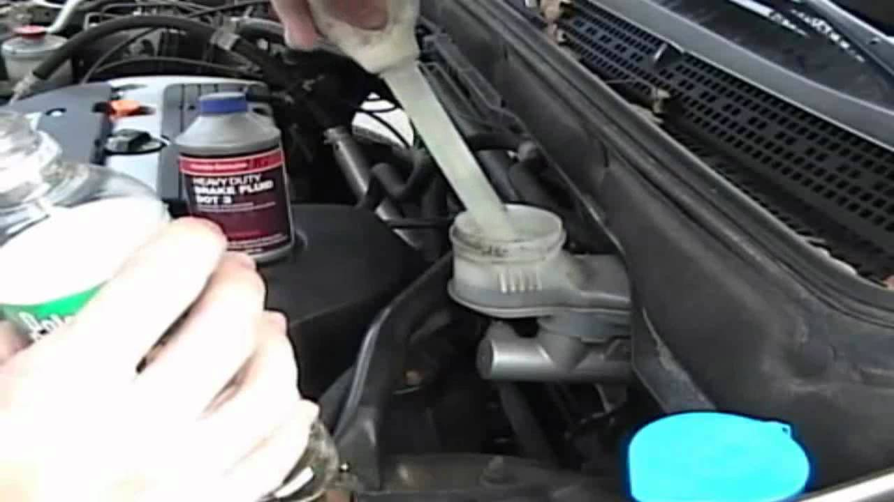 2002 Honda Crv Ex Brake Fluid Change How To Youtube