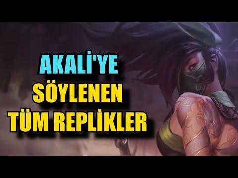 Akali'nin Diğer Şampiyonlara Öğütleri (Replikleri) l League of Legends l Quaxanos l