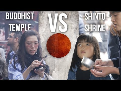 JAPAN SHRINES VS TEMPLES! Difference between a Buddhist Temple and Shinto Shrine Senso ji Tokyo