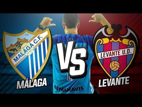 Málaga CF vs Levante UD (0-0) | Jornada 14 Liga Santander 2017/18 | Vlog y Post-Partido