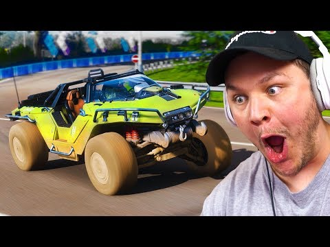 RACING THE WARTHOG FROM HALO IN FORZA HORIZON 4 thumbnail