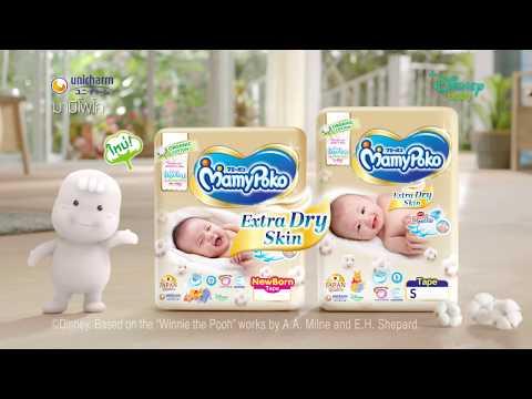 MamyPoko Extra Dry Skin - Organic Cotton
