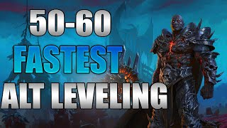Shadowlands - NEW Fasтest Way To Level Alts! How To 50-60 guide!