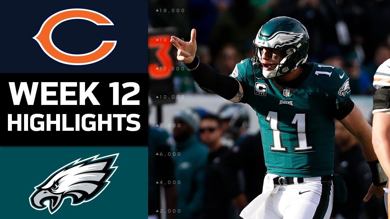 2ab57624 Bears vs. Eagles | NFL Week 12 Game Highlights
