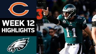 Bears vs. Eagles | NFL Week 12 Game Highlights thumbnail