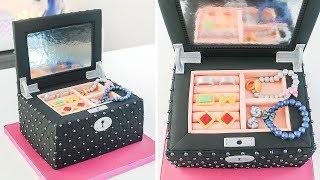 How to Make a Jewelry Box Cake - Tan Dulce