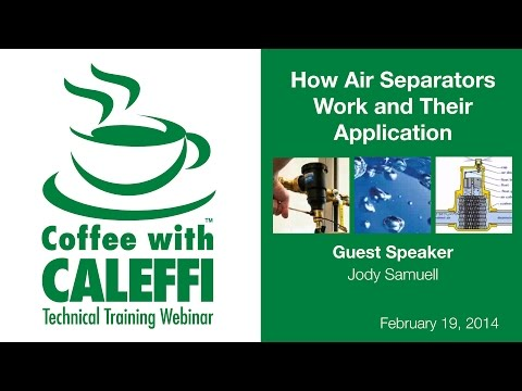 How Air Separators Work in Hydronic Systems