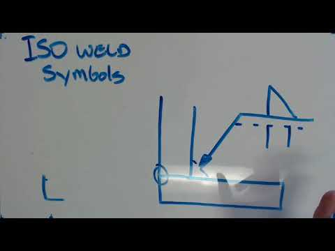 Iso Welding Symbols Youtube