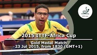 2015 ITTF-Africa Cup - Finals