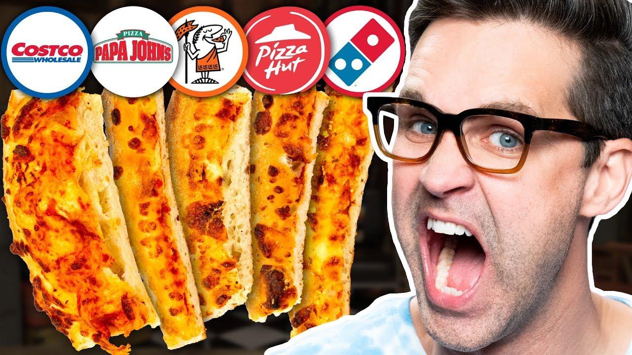 Blind Pizza Crust Taste Test