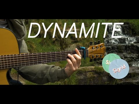 Dynamite - Sigrid - Fingerstyle Guitar Cover (Free Tabs)