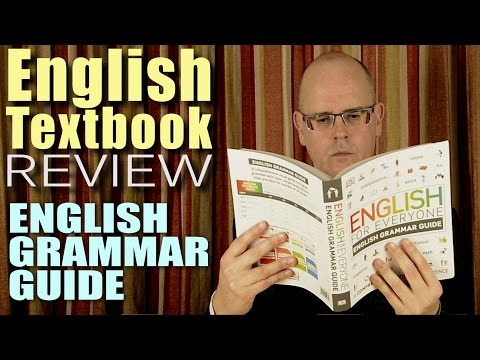 ENGLISH for EVERYONE by DK - English grammar guide - for those learning English - BOOK REVIEW