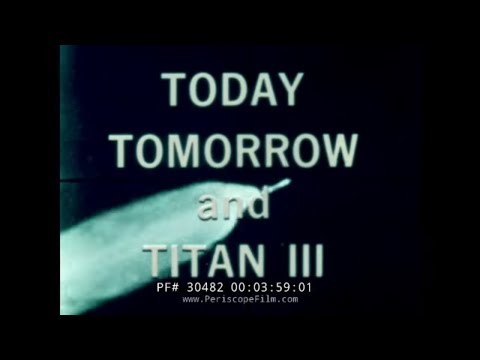 "NASA LIFTING BODY DOCUMENTARY ""MAN IN SPACE TODAY TOMORROW AND TITAN III"" Part 1 of 2 30482"