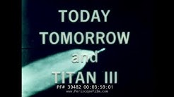 """NASA LIFTING BODY DOCUMENTARY """"MAN IN SPACE TODAY TOMORROW AND TITAN III"""" Part 1 of 2 30482"""