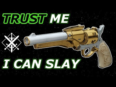 THE TRUST HAND CANNON IS CRIPSY - PvP - Destiny 2