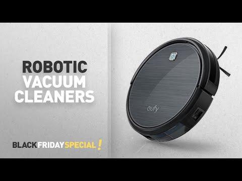 30% Off Robotic Vacuum Cleaners: Eufy Robot Vacuum RoboVac 11, High Suction, Self-Docking,