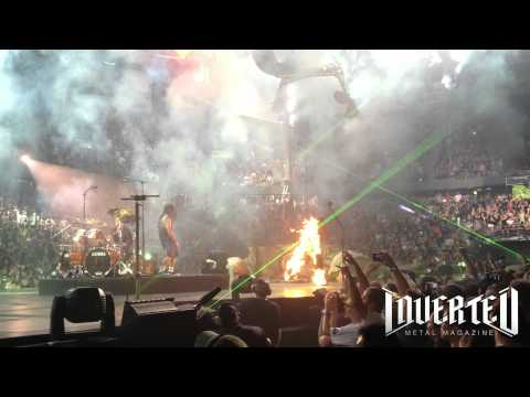 Metallica Stage Accident In Edmonton 2012