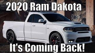 Dodge/Ram Dakota Is *COMING*! Ranger Is In TROUBLE!