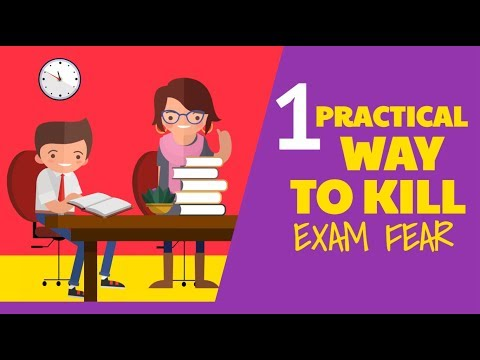 HOW TO OVERCOME EXAM FEAR!
