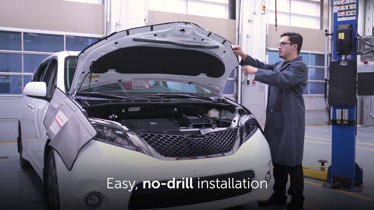 AVS Aeroskin Chrome Hood Deflector FOR Toyota Highlander 08-10 Details about  /Bug Shield