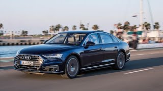 Audi adds a load of tech to the 2019 A8