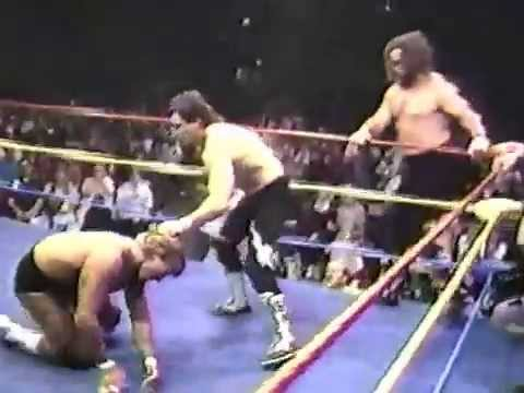 Kevin,Mike & Lance Von Erich vs Brian Adias, Crusher Yurkov & Black Bart
