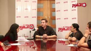 اتفرج | جلال الزكي يتحدث عن فيلمه الجديد مع تامر حسني