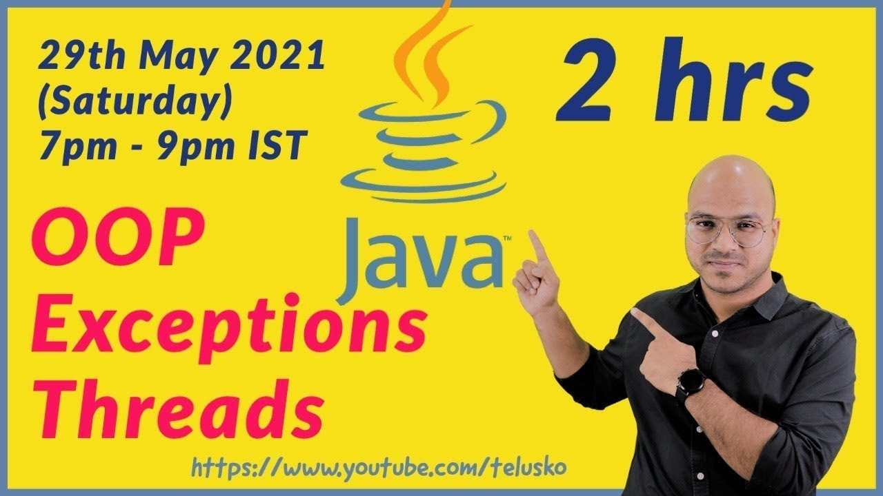 🔴Learn Java Live | Object Oriented Programming