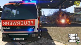 GTA 5 RESCUE MOD V #001 - Die Feuerwehr - Deutsch - GTA 5 Rescue Mod V Feuerwehr