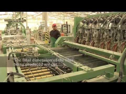 Производство облицовочной плитки, слебов и изделий из природного камня травертин!