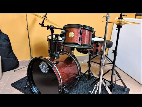 Ludwig Questlove Pocket Drum Kit - Unboxing And Demo