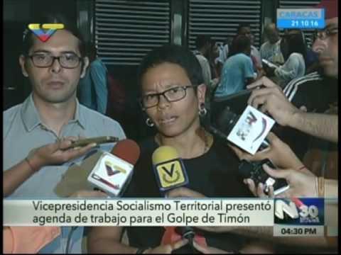 Vicepresidencia de Socialismo Territorial presentó Agenda de Trabajo sobre Golpe de Timón