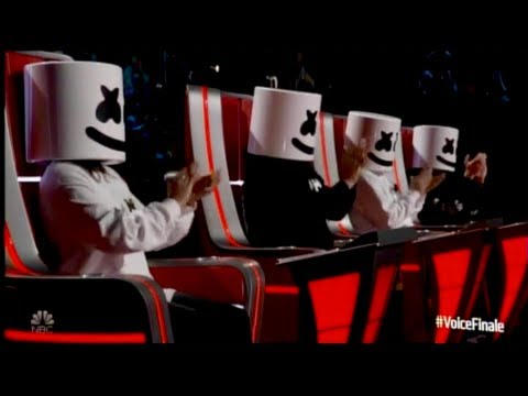 Marshmello & Bastille Perform Happier on The Voice