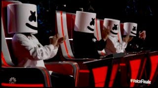 marshmello bastille perform happier on the voice