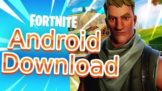 Fortnite v 6.20.2 (updated) Android apk / All devices / No Root / Gpu check disabled/Fix Updated apk