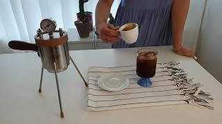 58 espresso SPTK-1 휴대용 에스프레소 머…