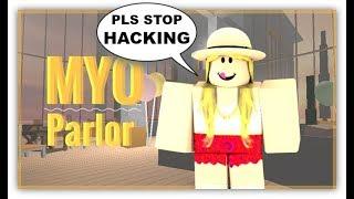 ROBLOX Trolling at Myo Parlor 2