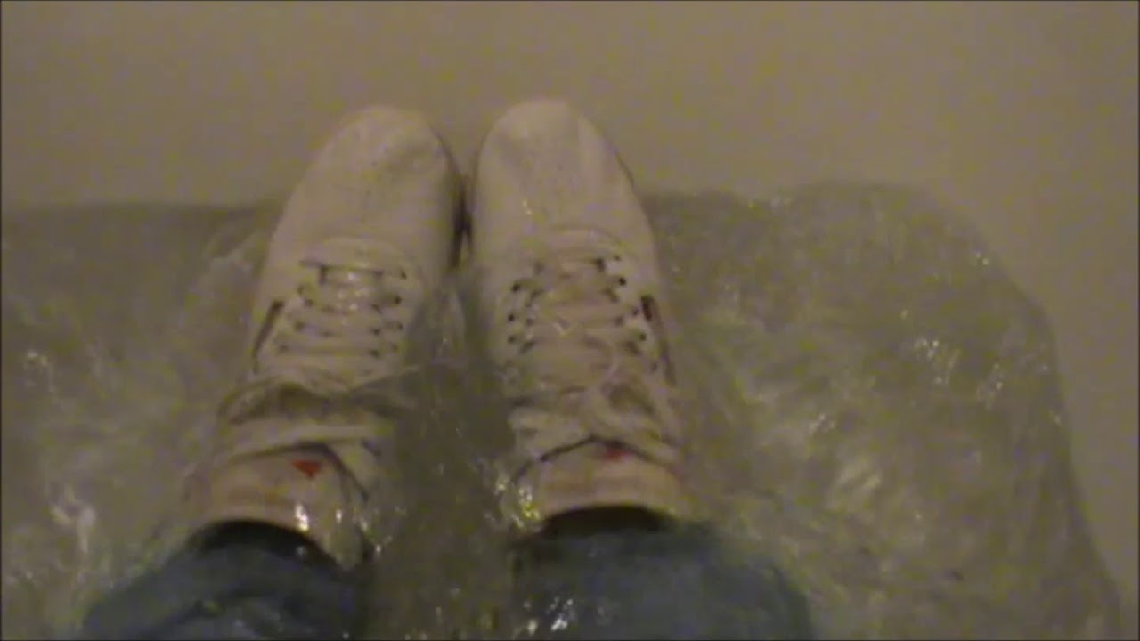 bccd6f86db19 Wetlook in white Reebok Freestyle - YouTube