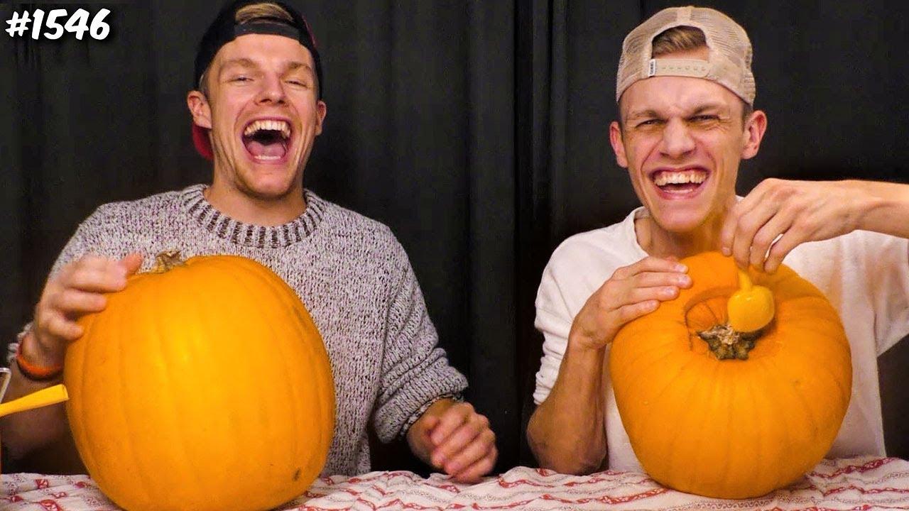 Pompoen En Halloween.Halloween Pompoen Maken Enzoknol Vlog 1546