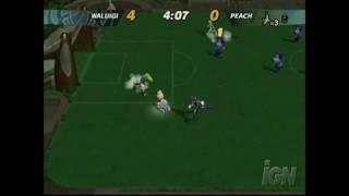 Super Mario Strikers GameCube Gameplay - Serious moves